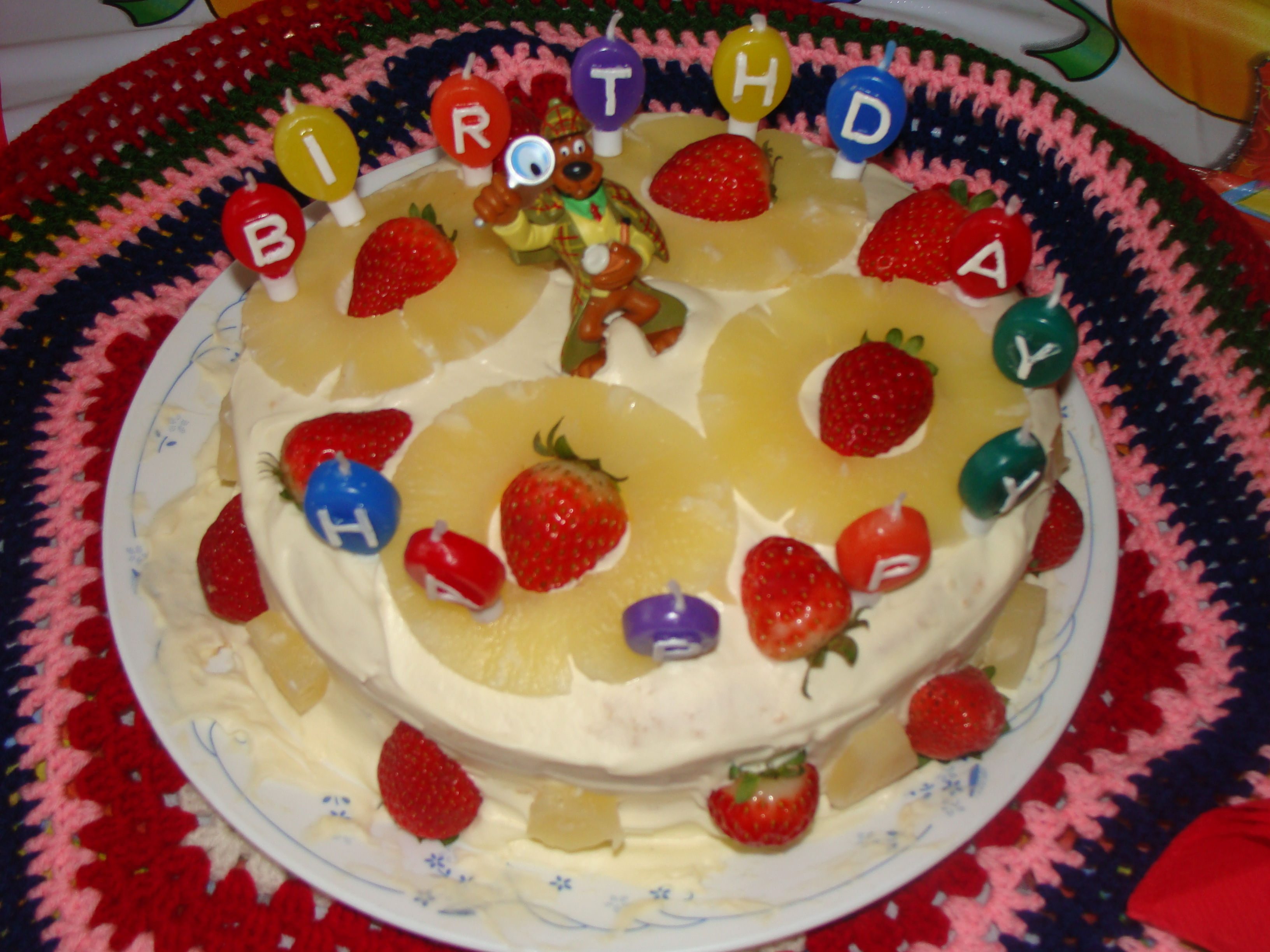 Monginis Pineapple Cake Images